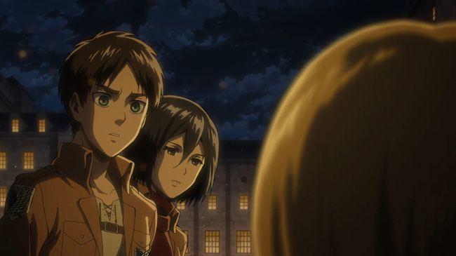Attack on Titan tập 2: Thót tim vì số phận của cô nàng Sasha Braus (3)