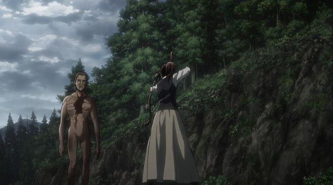 Attack on Titan tập 2: Thót tim vì số phận của cô nàng Sasha Braus (8)