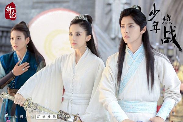 """Luhan """"bán nude"""" đẹp xuất sắc trong """"""""Trạch Thiên Ký"""" (1)"""
