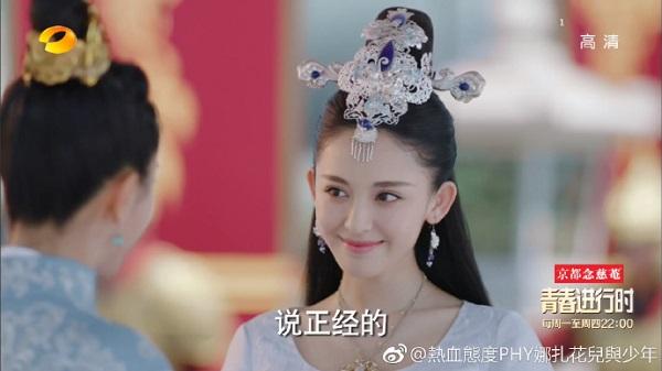 """Luhan """"thả thính"""" với dàn nam thanh nữ tú trong Trạch Thiên Ký (10)"""