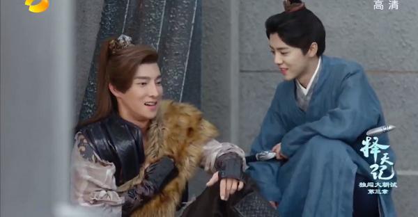 """Luhan """"thả thính"""" với dàn nam thanh nữ tú trong Trạch Thiên Ký (2)"""