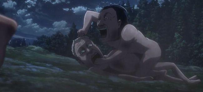 """Tập 4 """"Attack on Titan 2"""": Những cảnh giết chóc khiến người xem nổi da gà (2)"""