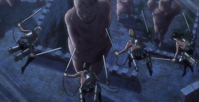 """Tập 4 """"Attack on Titan 2"""": Những cảnh giết chóc khiến người xem nổi da gà"""