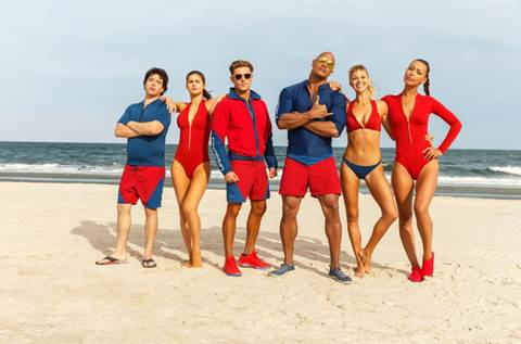 """Dwayne Johnson tái ngộ khán giả trong bom tấn hài """"Baywatch"""" (1)"""