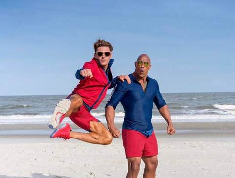 """Dwayne Johnson tái ngộ khán giả trong bom tấn hài """"Baywatch"""" (2)"""