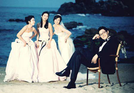 """Ngắm bộ ảnh cưới """"hiếm hoi""""của Park Sung Woong và Shin Eun Jung (6)"""