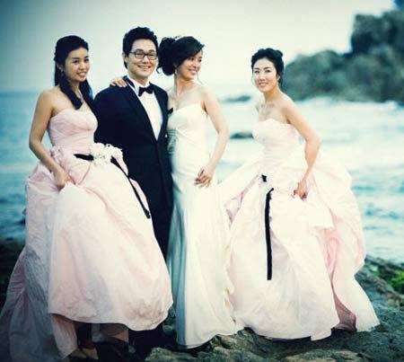 """Ngắm bộ ảnh cưới """"hiếm hoi""""của Park Sung Woong và Shin Eun Jung (5)"""