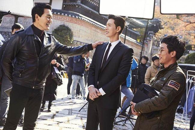 """Park Hae Jin và Park Sung Woong chia sẻ về quá trình quay """"Man to Man"""" (5)"""