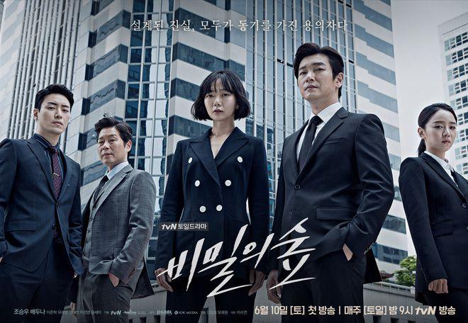 """Khu Rừng Bí Mật: """"Hàng hiếm"""" chất lượng cao của tvN (1)"""