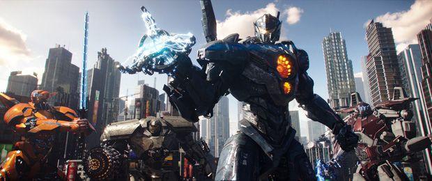 """""""Pacific Rim Uprising"""" tung trailer cháy nổ mãn nhãn y hệt """"Transformers"""" (1)"""