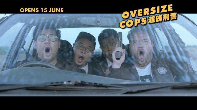 """Phim hành động hài Thái Lan """"Oversized Cops"""" tung trailer hấp dẫn (2)"""