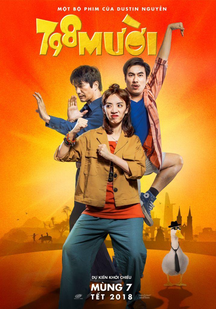 798Mười tung teaser poster hài hước hé lộ dàn nhân vật chính (6)