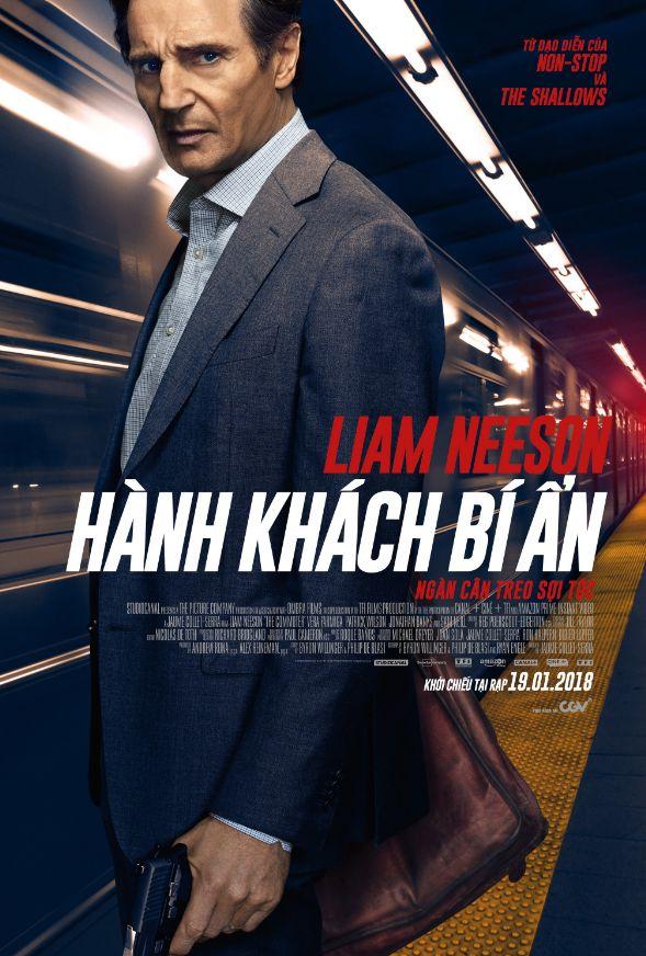 "Liam Neeson tái xuất trong phim trinh thám gay cấn ""The Commuter"" (1)"