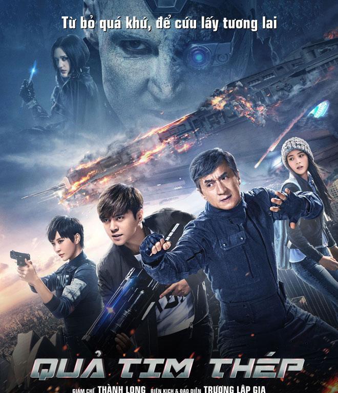 """Thành Long đột phá trong bộ phim hành động viễn tưởng """"Quả tim thép"""" (2)"""