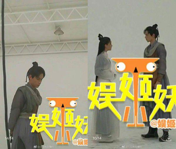 """""""Câm nín"""" với tạo hình cổ trang của Hồ Nhất Thiên trong """"Tuyệt Đại Song Kiêu"""" (1)"""