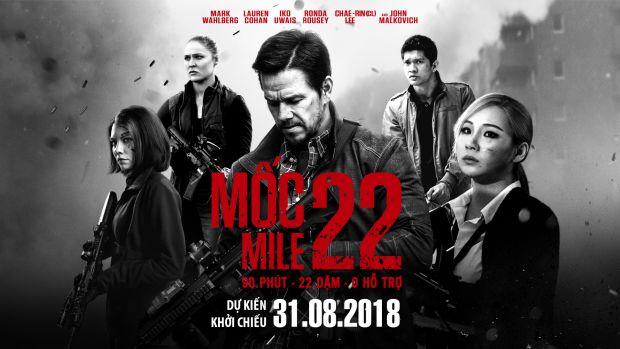 Phim hành động Mile 22 tung trailer kịch tính, CL (2NE1) xuất hiện lạnh lùng (1)