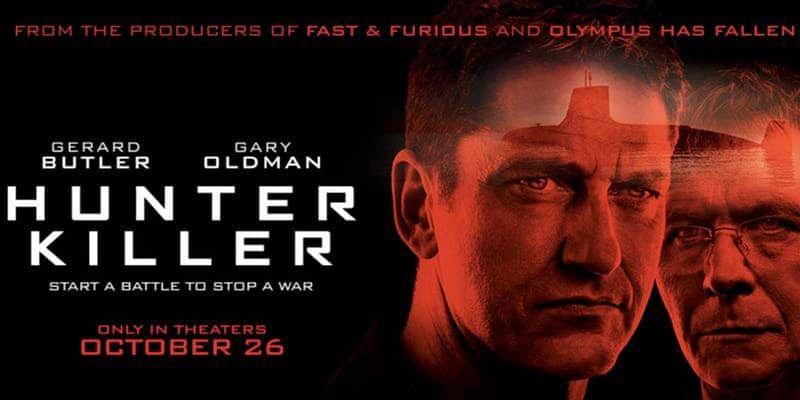 Phim hành động Hunter Killer tung trailer ấn tượng về các thủy thủ tàu ngầm
