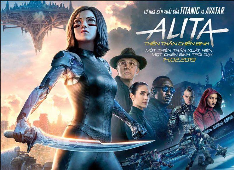 Alita: Thiên thần chiến binh - Phim hành động giả tưởng với kỹ xảo đẹp mắt (2)