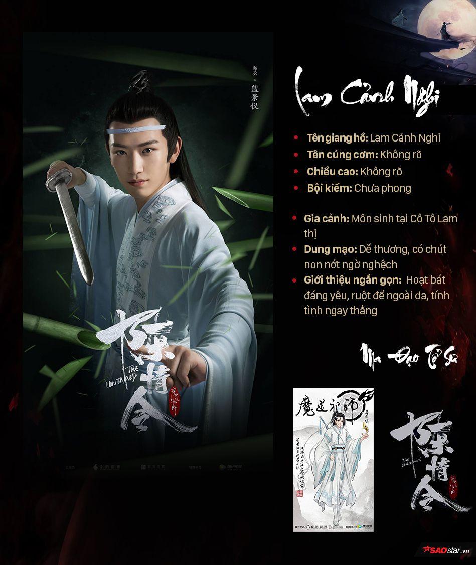 Thông tin nhân vật trong Ma đạo tổ sư, profile nhân vật phim Trần Tình Lệnh (11)