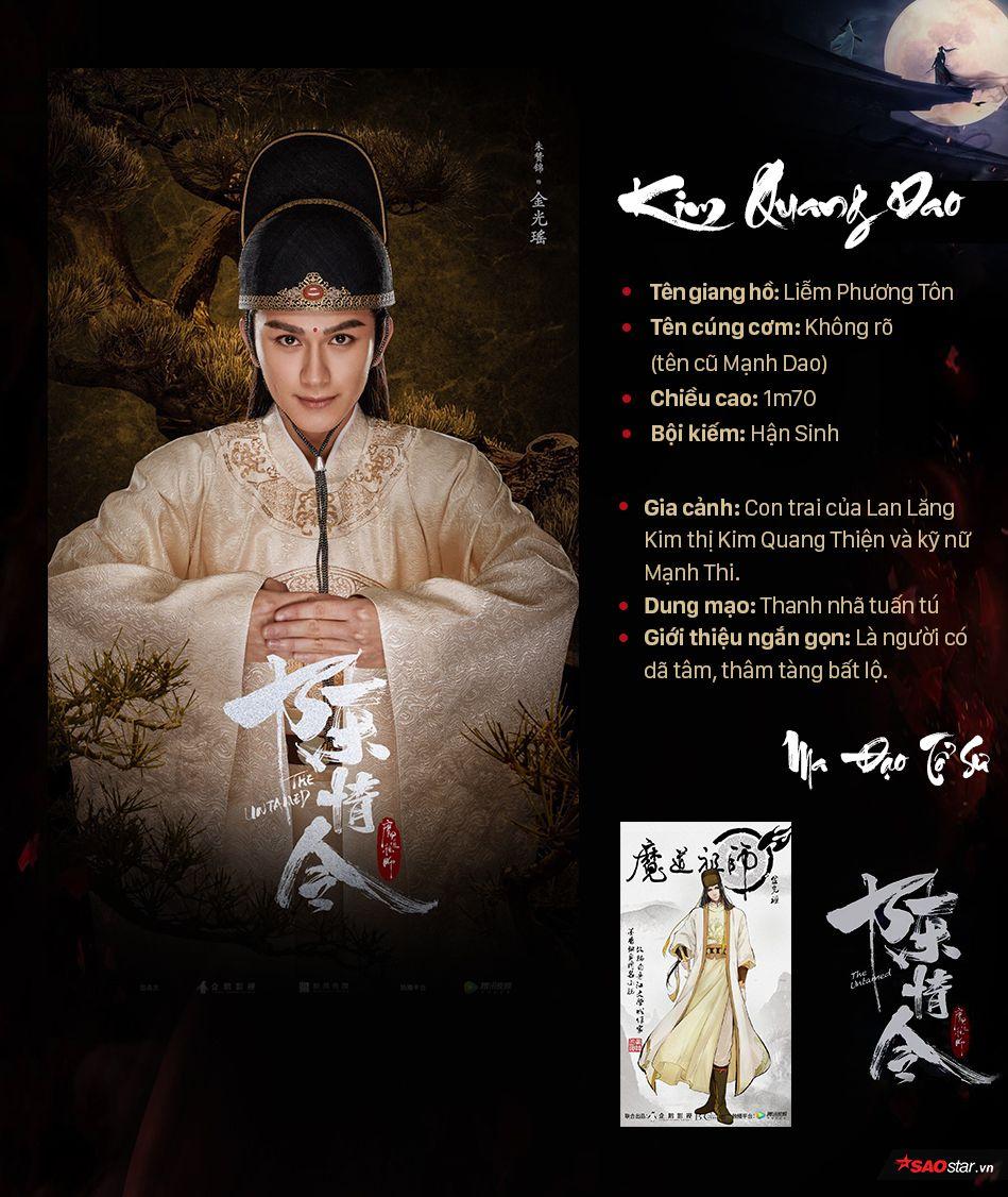 Thông tin nhân vật trong Ma đạo tổ sư, profile nhân vật phim Trần Tình Lệnh (15)