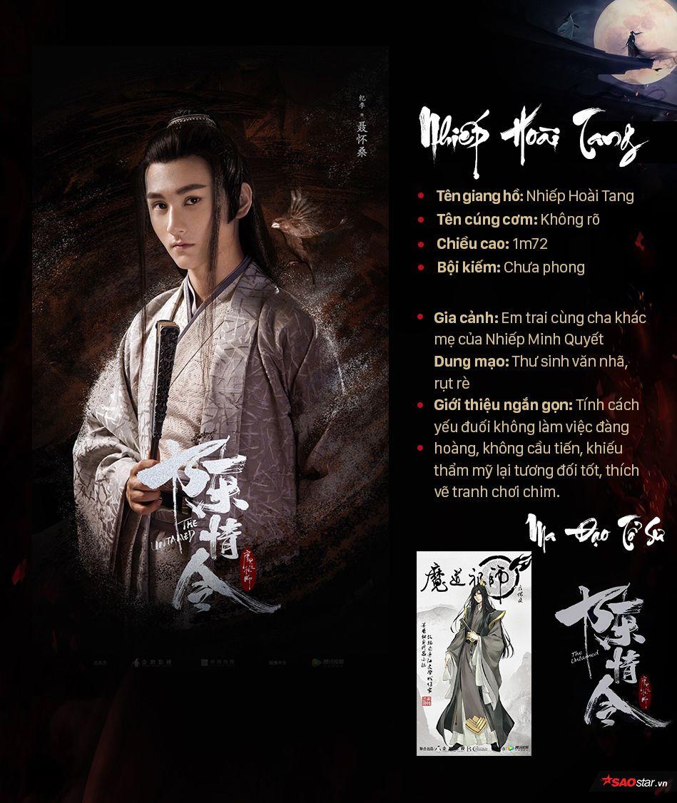 Thông tin nhân vật trong Ma đạo tổ sư, profile nhân vật phim Trần Tình Lệnh (17)