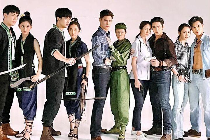 3 phim truyền hình hành động của TV7 Thái Lan lên sóng cuối 2021